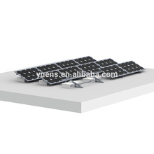 Sistema solar 1000KW de techo plano paneles solares Monte