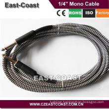 Premium 6.35mm Mono Male to Male Guitar Cable