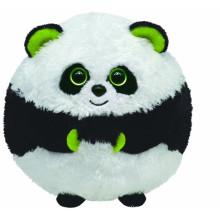 Kundengebundener Soem-Entwurf! Weiches gefülltes Panda-Kugelplüschspielzeug