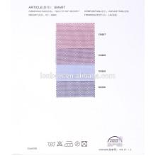 Promotional trendy style 100% cotton jacquard shirts fabrics