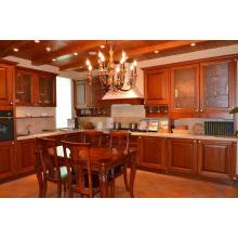 Society Hill Shaker (Mocha) Solid Wood Kitchen Cabinet