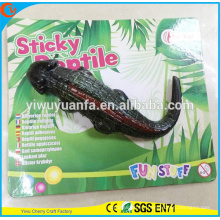 Novelty Design Funny Trick Soft Sticky Crocodile Toy