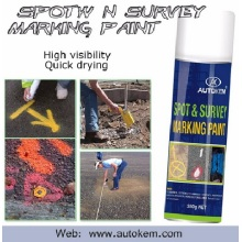 Peinture de marquage inversée Utiliser comme peinture de marquage de ligne pour la route et Spot / Field Marker Aerosol Spray Free Sample
