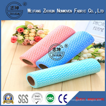 Hydrophilic Spunlace Nonwoven Fabric for Cleaning Wipes