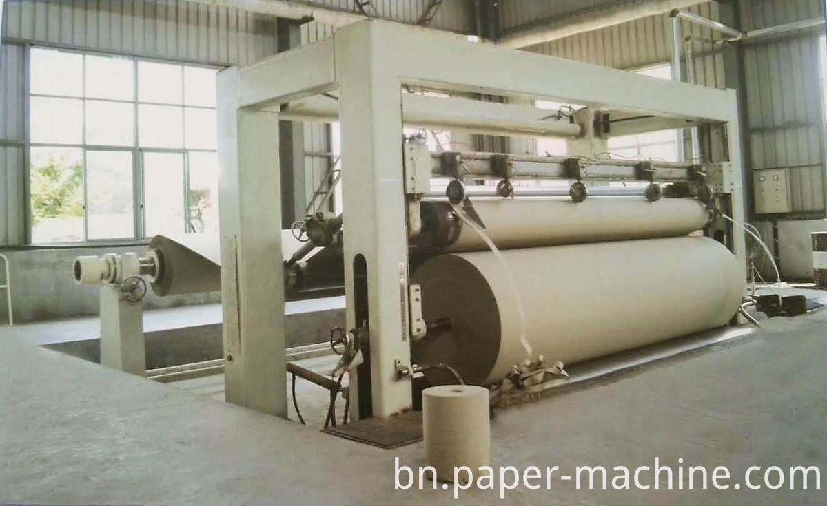 Rewinder Upperfeed Machine Paper Rewinder For Paper Making Machine