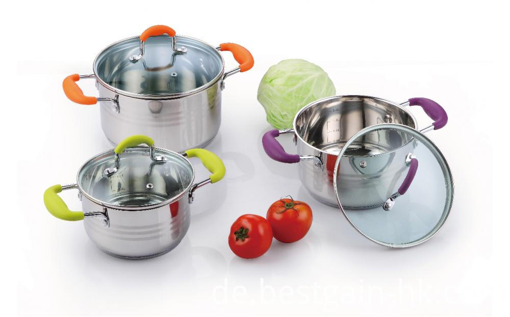 Stainless Steel Belly Shape Pot