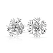gift for girlfriend Cubic Zirconia Snowflake Stud Earrings Manufacturer