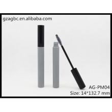 Encantador y vacío plástico redondo Mascara tubo AG-PM04, empaquetado cosmético de AGPM, colores/insignia de encargo