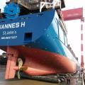 Navire anti-éclatement lancement levage airbag marin