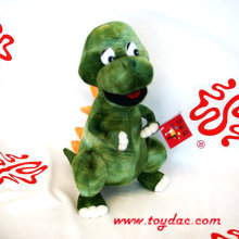 Stuffed Cartoon Dinosaur