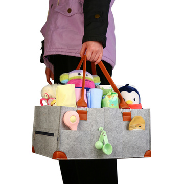 Hot Baby Storage Box Diaper Caddy Bag