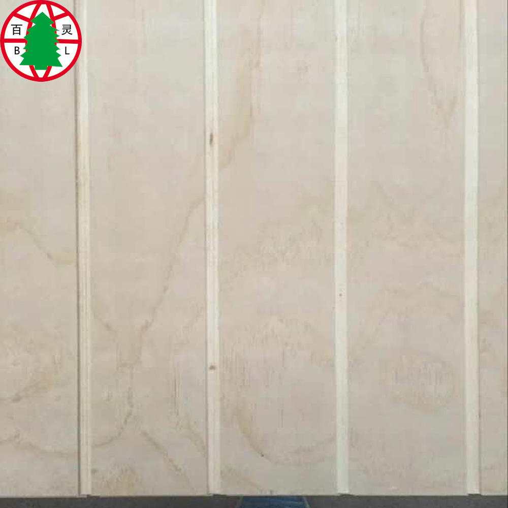Pine Grooved Plywood 2