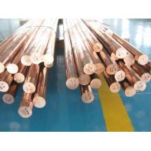 Barras de cobre vermelho, barra de cobre vermelho, haste de cobre vermelho com custo efetivo