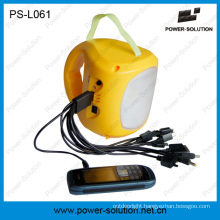 Cheap Indoor Solar Lantern with Mobile Phone Charger