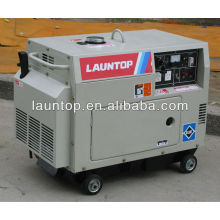 5.5kw 4-stroke,air-cooled, single-cylinder diesel generator set with canopy