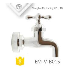 EM-V-B015 grifo de latón Grifo de la lavadora de agua fría grifo