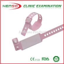 Pulseiras de identificação do uso hospitalar da HENSO