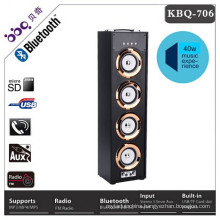 2018 new products wood speaker bluetooth tower speaker