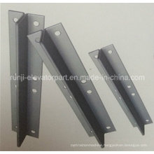 Rj-Gr Fishplate for Hollow Guide Rail Elevator Parts