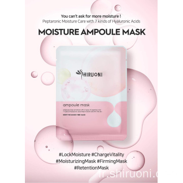 Masque facial de polypeptide d'OEM d'acide hyaluronique d'ampoule