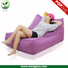 Al aire libre impermeable doble beanbag sofá lounger, sofá al aire libre bolsa de frijol