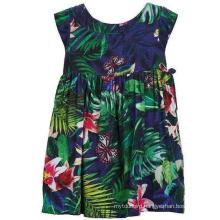 Fashion Flower Dress in Children Clothes