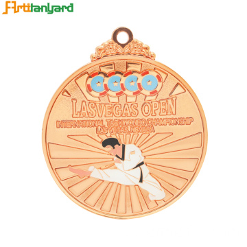 Lustige Logo Customized Large Award Medaille