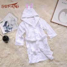 Serviette de bain à capuche bébé mignon bunny en tissu éponge 100% coton