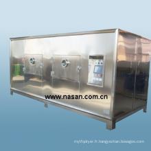Machine de séchage de fruits à micro-ondes Shanghai Nasan