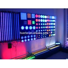 150 mm 9 leds haute puce puce 24v IP66 rgb led point source de lumière CE RoHS