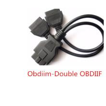 OBD2 Мужчин двойной женский адаптер кабель OBD2