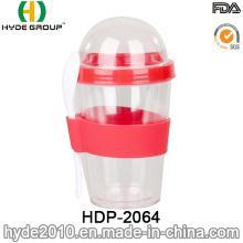 BPA salada plástico Shaker Cup (HDP-2064)