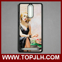 Wholesale Sublimation Blank Plastic Cell Phone Case for Lenovo K5 Note