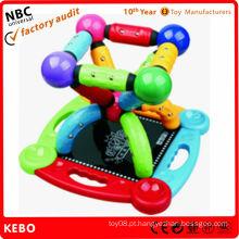 Magnetic Baby brinquedo de construção de construção