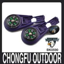 Chongfu profundamente plástico roxo Líquido cheio fechamento zip clips manufactory