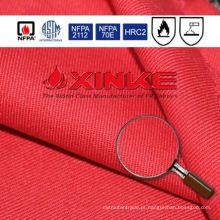 Tecido retardador de chama de nylon do algodão 12% de 7oz 88% para o macacão
