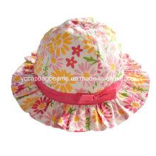 Crianças Bob Hat, Girl Bucket Hat