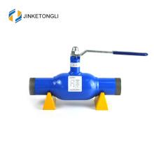 Válvula de bola del aceite y del gas de la venta directa de la fábrica 6d del acero inoxidable 304 de la venta de la fábrica
