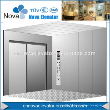 Decorative Lift Elevator Door cladding Stainless Steel cabin design
