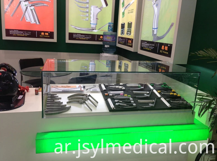 Anesthesia video laryngoscope