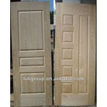 2.5-4 мм стандартный размер природных золы шпона ХДФ дверь кожи