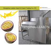 Les fruits de la passion et les éplucheurs de fruits de la passion prennent la machine de traitement de jus de graine