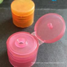 Precio de fábrica tamaño diferente tapa de plástico tapa superior Molde / tapa superior molde del casquillo