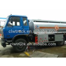 Capacidad de camión cisterna de combustible Dongfeng 145, 8-10 camiones cisterna de combustible M3 dimensiones del camión
