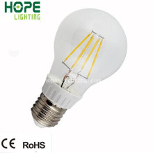 Plastique + PC A60 8W E27 LED Filament Ampoule
