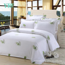 Modern Design High Quality White Bed Sheets Super Soft for Single Bed