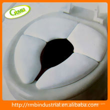 Tapis de toilette pliable