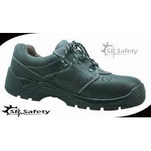 SRSAFETY промышленная защитная обувь замшевая кожа защитная обувь черная стальная защитная многофункциональная обувь