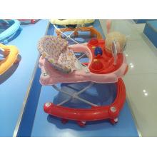 Plastikmusical Learning Baby Walker mit Spielzeug