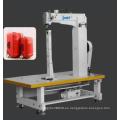 DT 8750 aguja única / doble de alimentación de unísono alta máquina de coser post-cama (asiento derecho de la caldera)